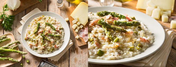 Risotto-asparagi-pancetta-croccante-pecorino