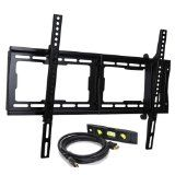 "VideoSecu Tilt TV Wall Mount Bracket for Most 23""- 65"" LCD LED Plasma TV Flat Panel Screen with VESA 200x100 to 600x400mm, Bonus 10 ft HDMI Cable and Magnetic Bubble Level BBM (Electronics)By VideoSecu"
