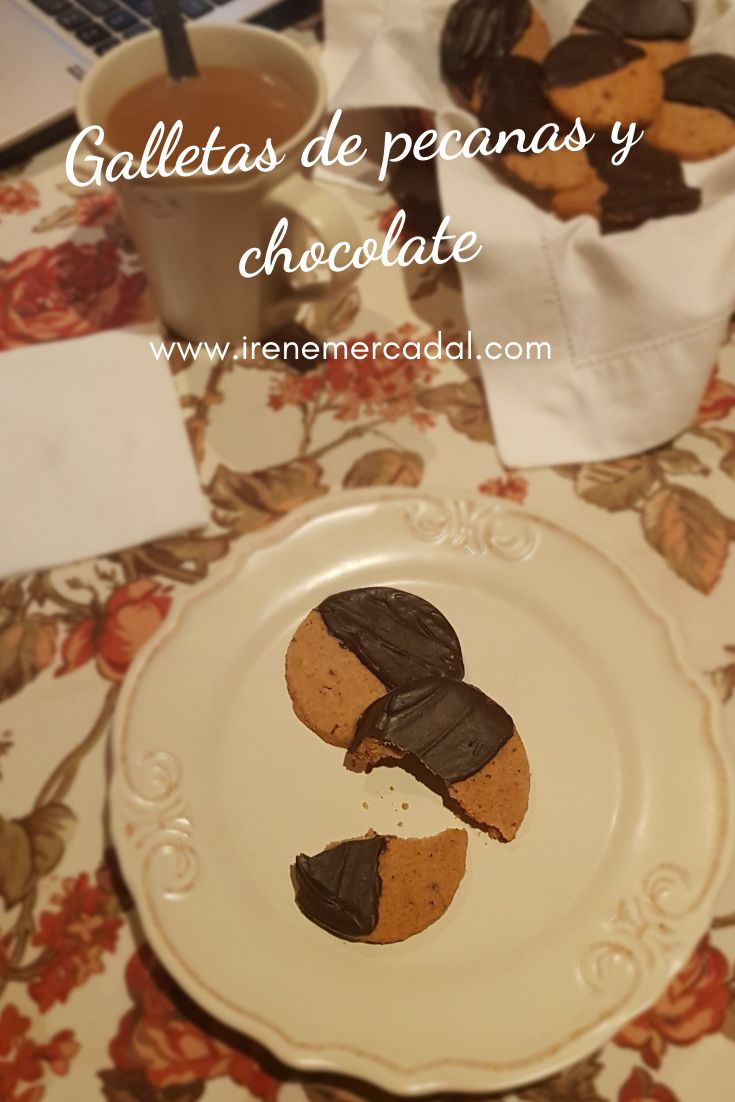 Estas galletas de pecanas y chocolate son absolutamente deliciosas ¿Quieres ver la receta? #recetadecocina #recetadegalletas #recetadulce Tostadas, Chocolate Fundido, Irene, Cookies, Desserts, Food, Gourmet, Bakery Recipes, Best Recipes