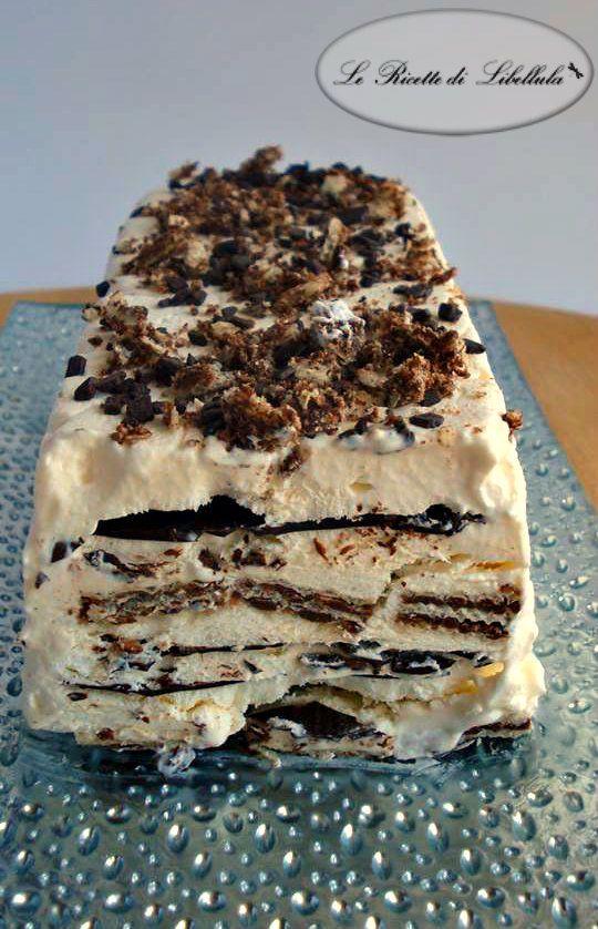 #Semifreddo con #wafer e #cioccolato #ricetta #GialloZafferano #BlogGZ