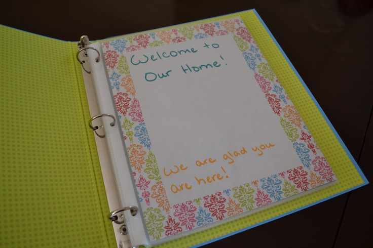Finally The Long Awaited For Post About Our Welcome Book