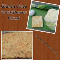 Gluten Free Cauliflower Crust