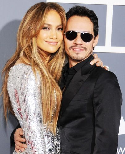 Friendly Exes!: Jennifer Lopez Walks Same Red Carpet as Ex-Husband Marc Anthony and His New Wife