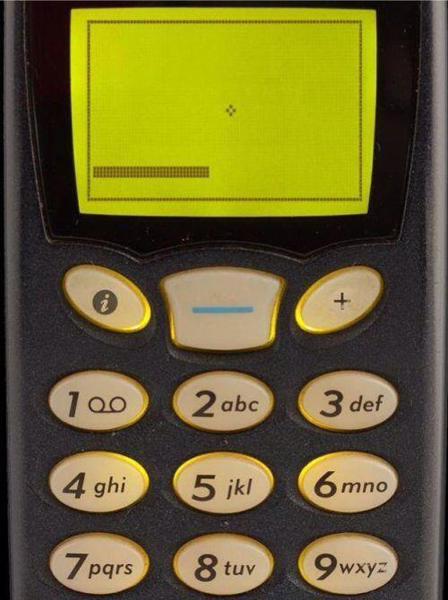 Nokia snake game #nokia #snakegame #oldstyle #cellphone #mobile