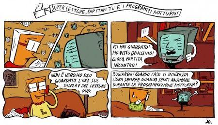Super Lettore, Capitan Tv e i programmi notturni