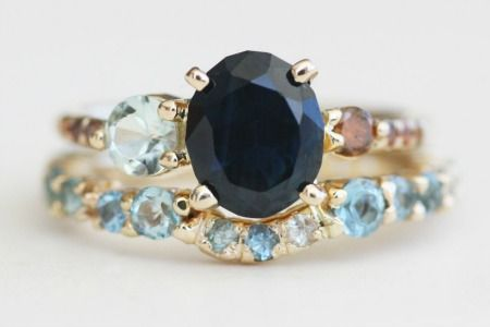 8 Unique Engagement Rings for Non-Traditional Girls—And 2 Super-Cool Wedding Rings! Which Is Your Fave?