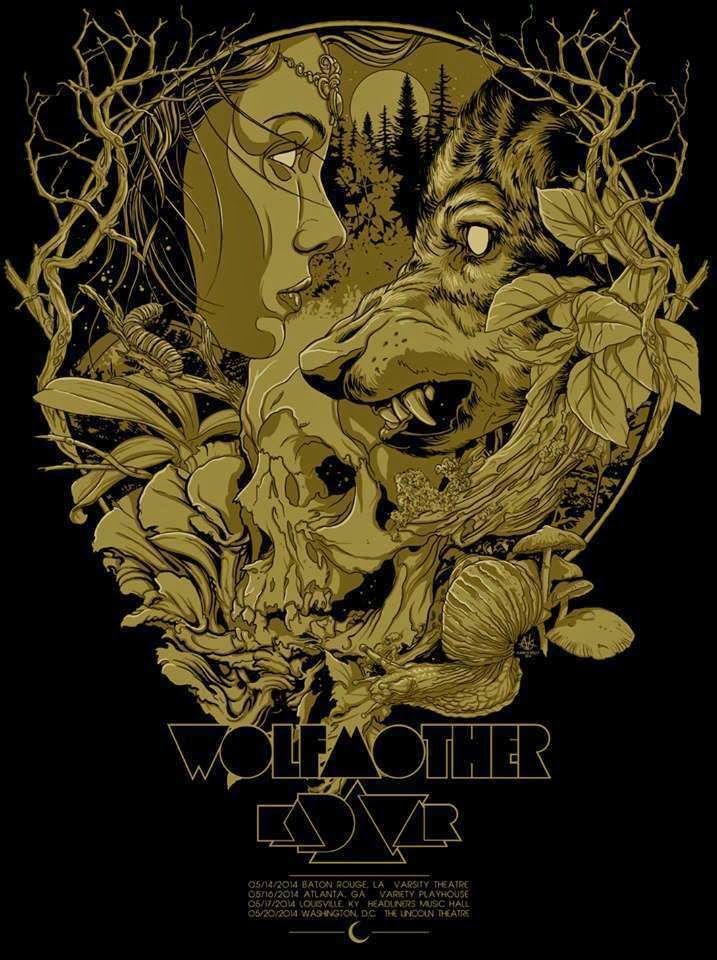 Wolfmother + Kadavar - Vance Kelly - 2014 ----