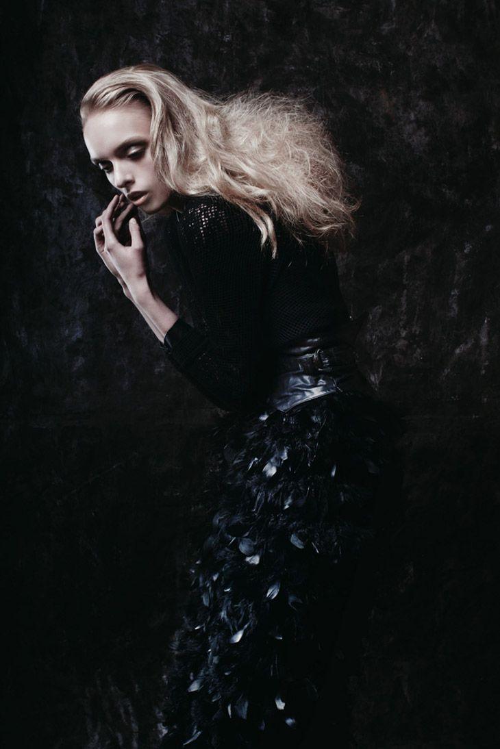 "Anastazja in ""Calm Before The Storm"" by Marta Macha for Barrel Fashion Magazine"