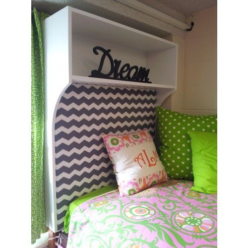 Customize Your Dorm Room At The University Of Alabama With A Bookcase  Headboard That Will Spruce Part 84