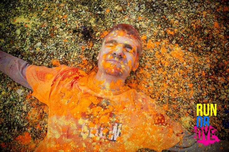 What a great event - #Run or Dye Chicago #art #colour #fun outex.com