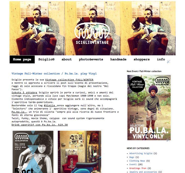 The Blog http://scigliovintagezone.blogspot.it/