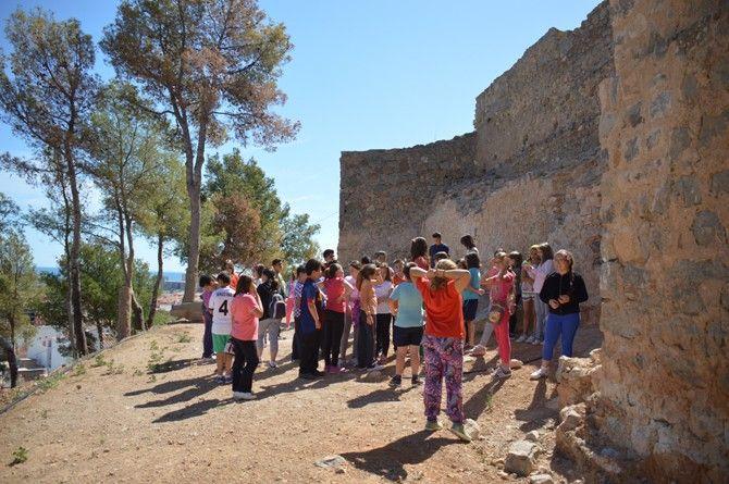 Visita escolar al Castell d'Orpesa