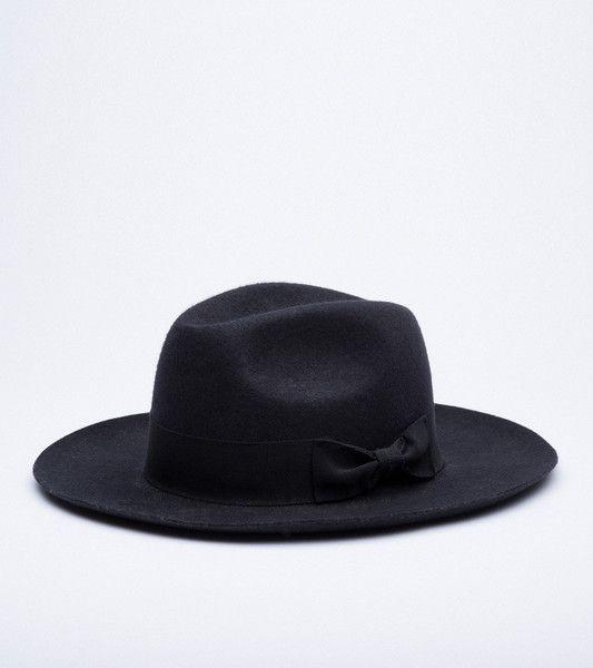 BILLE FEDORA HAT · BLACK