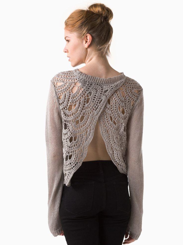 Crochet Wrap Back from Margaret O'Leary