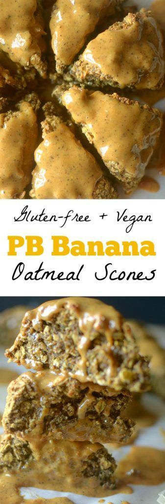 Peanut Butter Banana Chai Oatmeal Scones combine an array of delectable flavors and whole ingredients to satisfy your hunger pangs and cravings alike! Vegan + Gluten-free