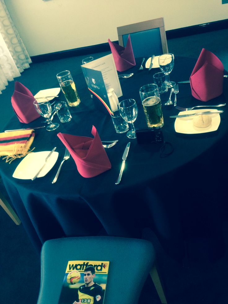 Watford FC Matchday Hospitality | Goalhangers Prints. Really recommend you try it. The staff are all fantastic, the food is excellent and the whole experience is truly memorable.