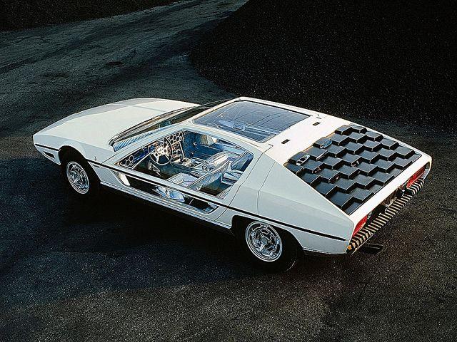 1967 Lamborghini Marzal Concept Car by Bertone