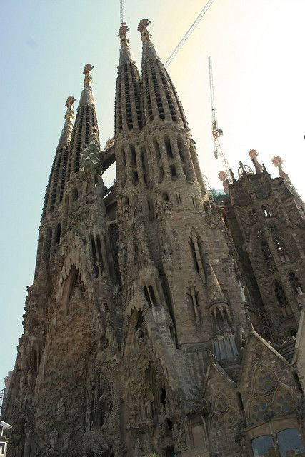 Sagrada Familia, Barcelona -- It's even more majestic inside
