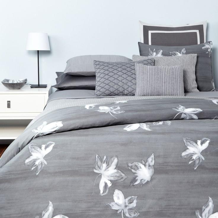 Vera Wang Charcoal Flower Printed Collection Bloomingdale 39 S Master Bedroom Master Of Sleep
