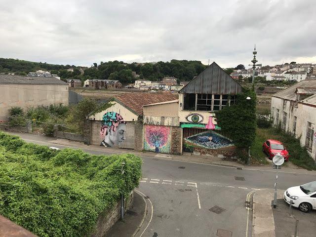 Street Art, East-the-Water, Bideford, Devon