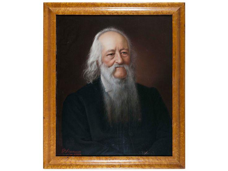 William Colenso, 1894, Gottfriend Lindauer, (b.1839, d.1926), collection of Hawke's Bay Museums Trust, Ruawharo Tā-ū-rangi, 7037