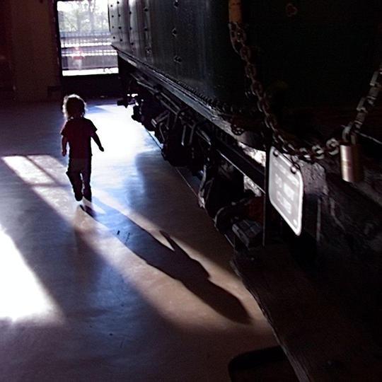 Train Museum #Lytro
