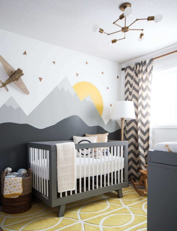 √ 27 Cute Baby Room Ideas: Nursery Decor For Boy, Girl And Unisex | Baby Room Themes, Eclectic Nursery, Boy Room