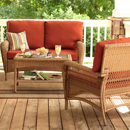 for screened in porch  Martha Stewart  Home Depot. 44 best Patio furniture images on Pinterest   Home depot  Patio