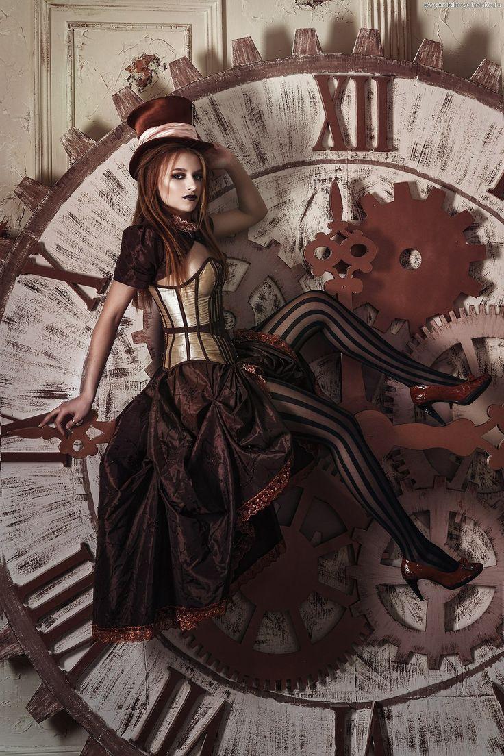 Steampunk Girls — steampunktendencies:     Model: Anastasia...