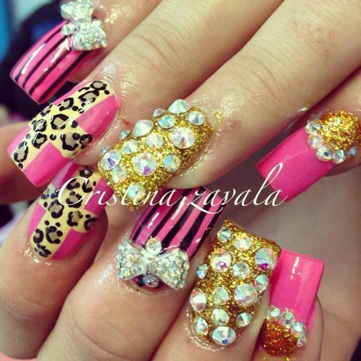 101 best e$tilo $inaloa images on Pinterest   Nail art, Fingernail ...
