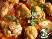 Курица в томатно-сметанном соусе ингредиенты
