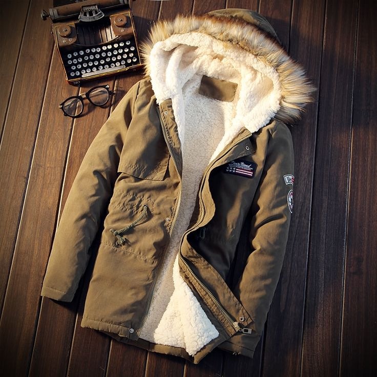 32.27$  Watch now - http://alied6.shopchina.info/go.php?t=32728320400 - 5XL 2017 Winter Brand Men Thick warm parka Fur Hood With Cashmere Winter Jacket High Quality Fashion Men's Coat Hot Sale 697  #shopstyle