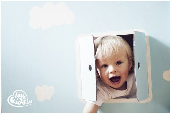 Domek, LoveKids to wspaniała #zabawa, dzieci mogą malować, rysować i wyklejać kartonowe powierzchnie. Pobudza wyobraźnię twojego #dziecka a do tego jest w 100% ekologiczny.
