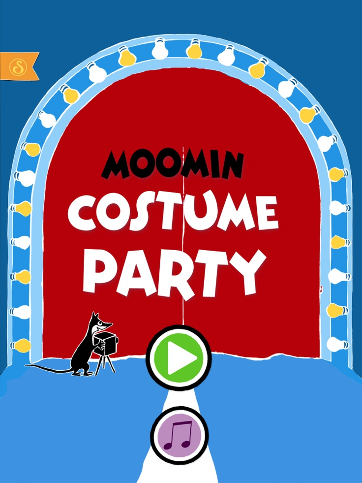 Moomin Costume Party https://itunes.apple.com/app/moomin-costume-party/id584735277  https://play.google.com/store/apps/details?id=com.spinfy.pukuleikki