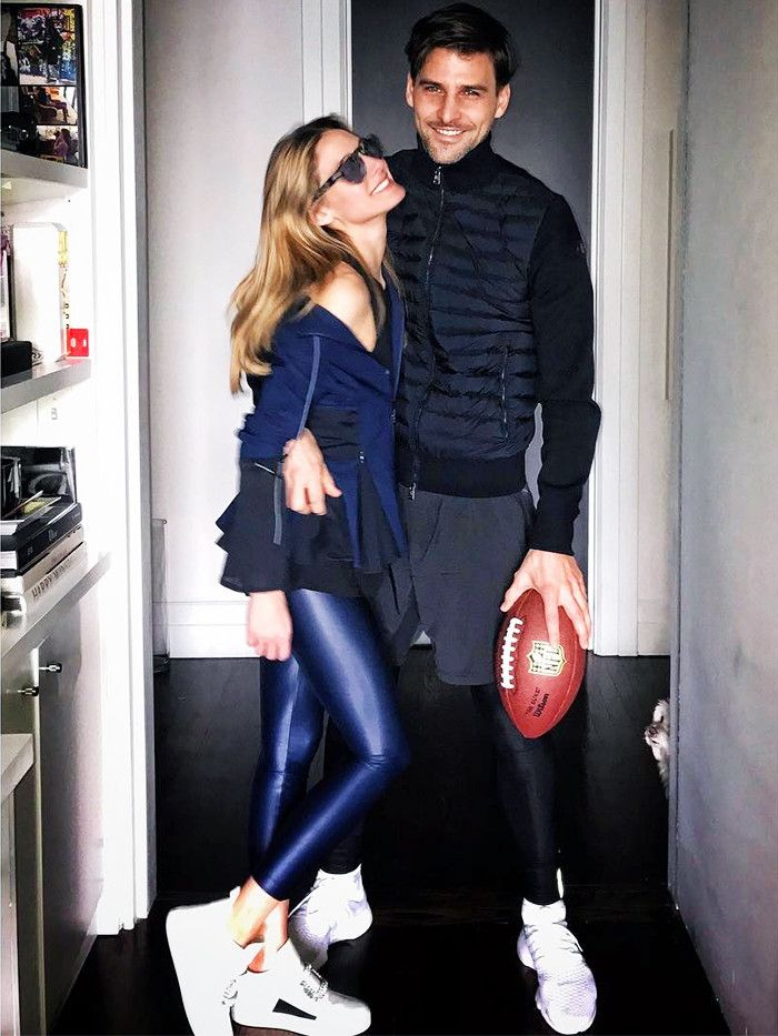 8cffab47e317 Olivia Palermo s Super Bowl Look Is Giving Us Game Day Style Goals ...