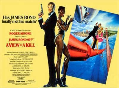 ボンドからダンディズムを学べ?NO.14…映画「007 美しき獲物たち」(出演:ロジャー・ムーア) - 飾釦