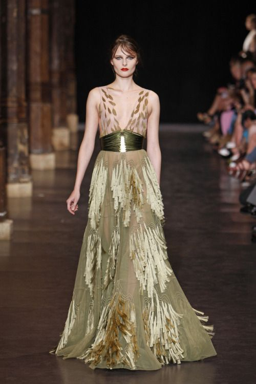 Basil Soda Couture F/W 2012-2013  Attire for the Silvan elves
