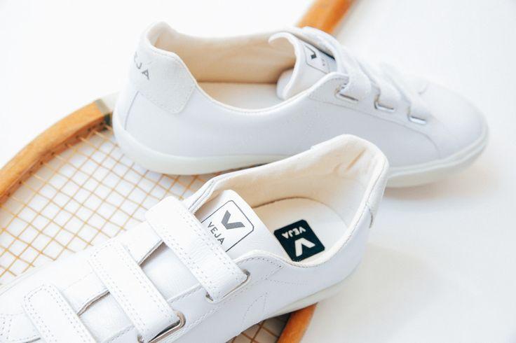 Veja Esplar leather 3locks white seen through @thelionheaded 's photo. Available on veja.fr #veja #vejashoes #whitekicks