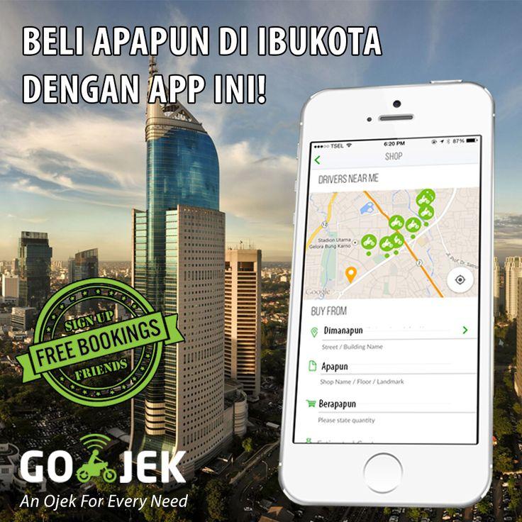 Beli apapun, ditalangain & dikirim secara instan! GO-JEK App - www.go-jek.com/app... #GOJEK4LIFE