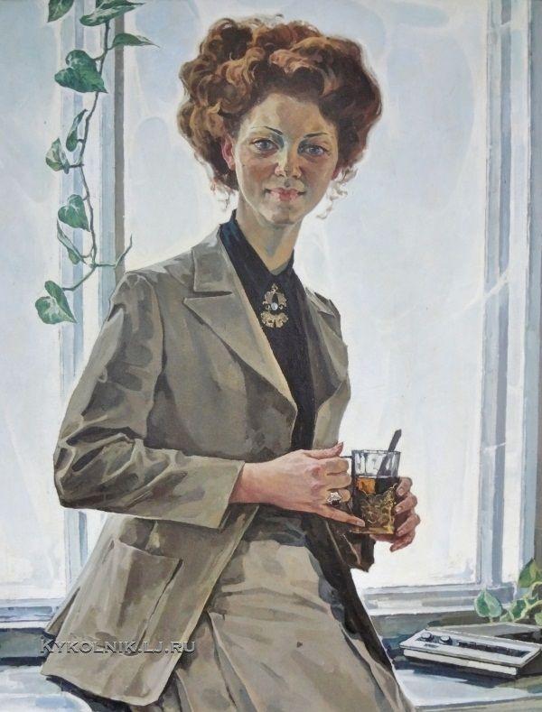 Боско Юрий Иванович (Россия, 1930) «8 марта» 1980