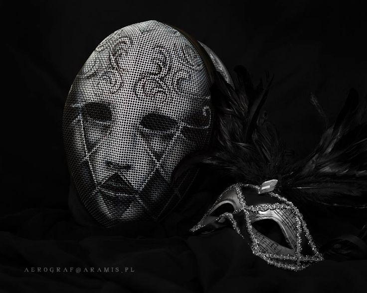 Amazing fencing mask!