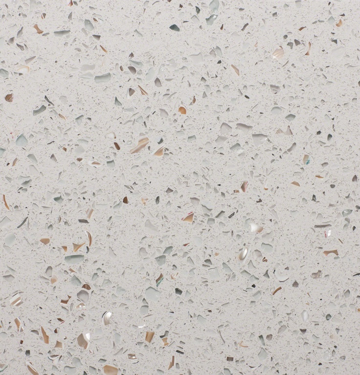 Curava Lemongrass Recycled Glass Kitchen Countertop