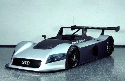 Audi R8R ¿Esto que és? Si ni parece cómodo.