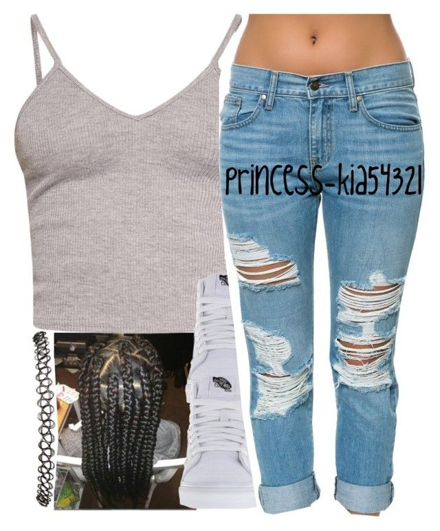 """*"" by princess-kia54321 ❤ liked on Polyvore featuring BasicGrey, Vans, Pistola and Wet Seal"