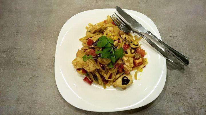 Einfach und doch raffiniert im Geschmack:  Bami Goreng  Hier gehts zum Rezept:  http://www.gregkocht.de/recipes/916/Wie-mache-ich-Bami-Goreng