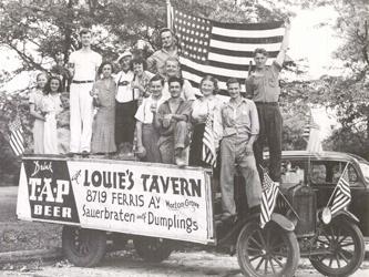 Louie's Tavern was at 8719 Ferris, Morton Grove, Illinois