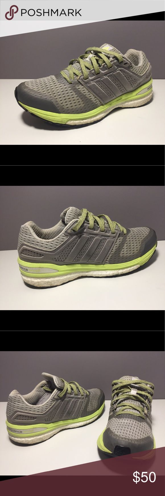 Adidas Sequence Boost Shoes Adidas Sequence Boost Shoes - Size 7 - pre owned, great condition, only worn a handful of times, comfy - see pictures Adidas Shoes Athletic Shoes