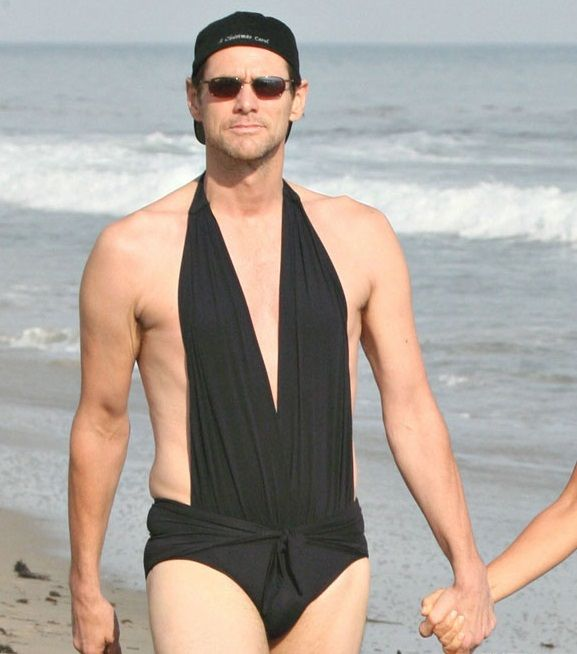 Just a Picture of Jim Carrey Staring Down a Paparazzi Photographer in His Girlfriends 1 Piece Bathing Suit http://ift.tt/2gmHj6h