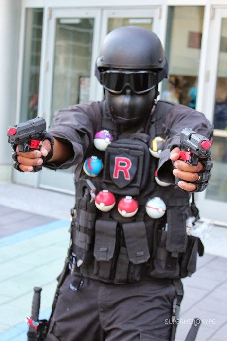 You Don't Want to Mess With This Team Rocket Grunt