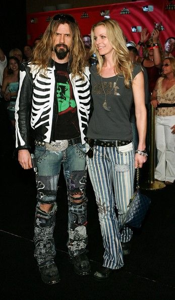 Rob Zombie and Sheri Moon Zombie, my favourite two people